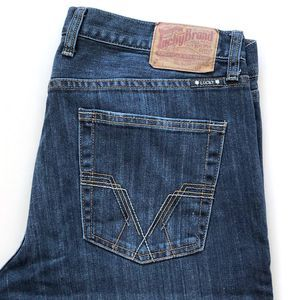 Lucky Brand Men's 361 Vintage Straight Jeans TALL